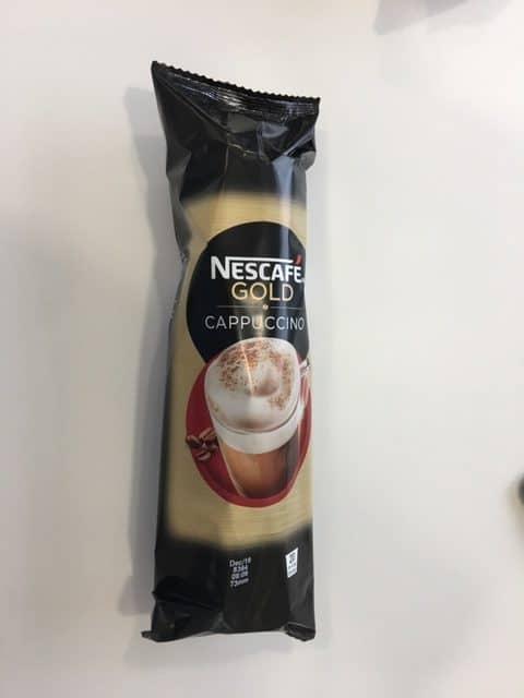 Nescafe Gold Cappuccino In Cups 12x20 (Inc031)